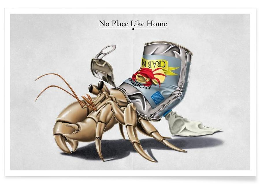 , No place like home (titled) affiche