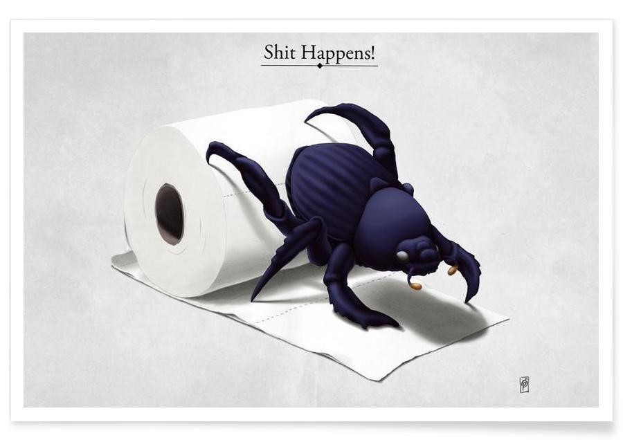 Shit happens (titled) affiche