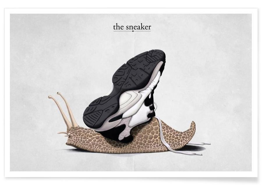 The sneaker (titled) affiche