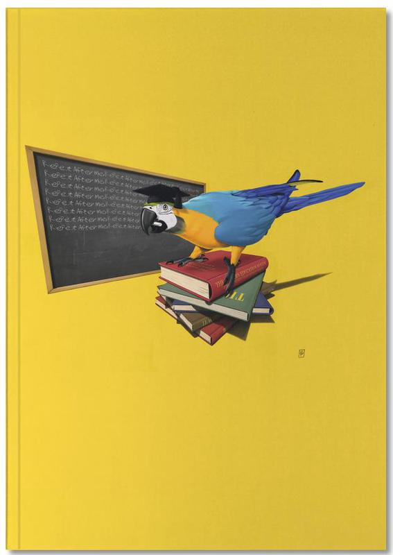 Parrots, Repeat (colored) Notebook