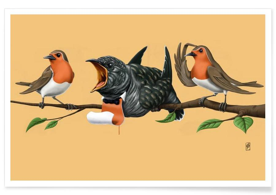 , Cock Robin (colored) affiche