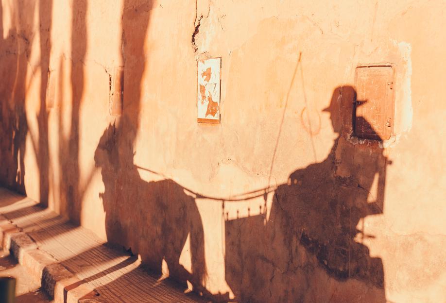 Marrakesh Paradise 3 tableau en verre