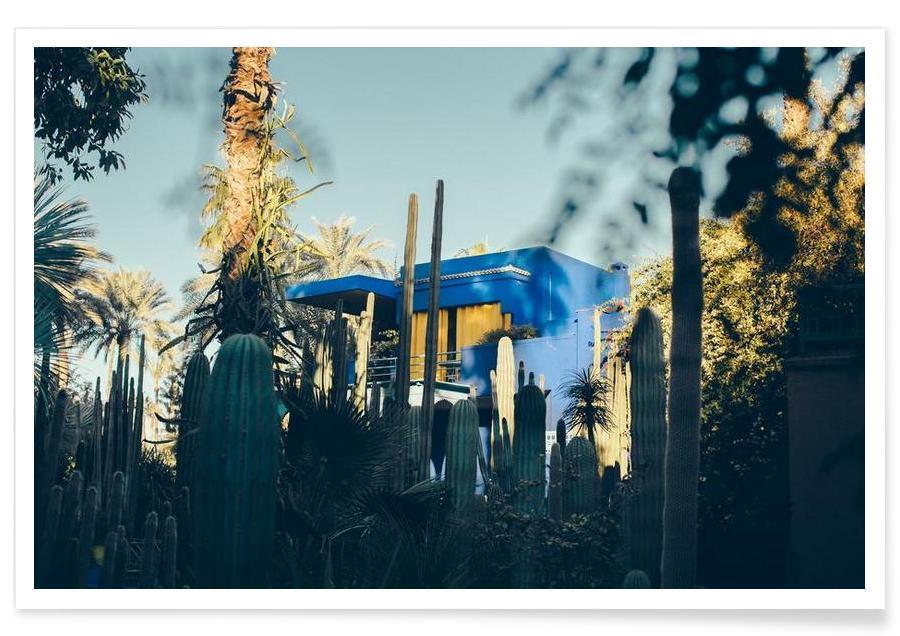 Architectural Details, Cacti, Marrakesh Paradise 12 Poster