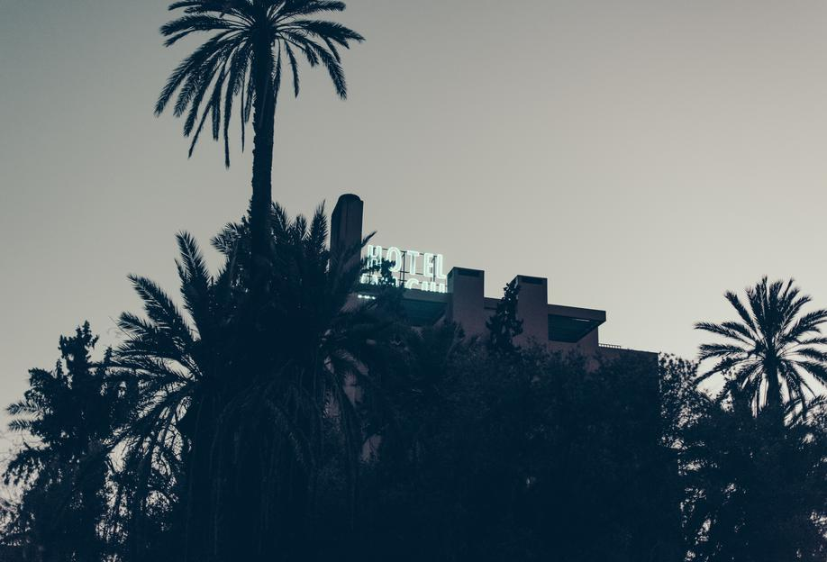 Marrakesh Paradise 16 -Acrylglasbild