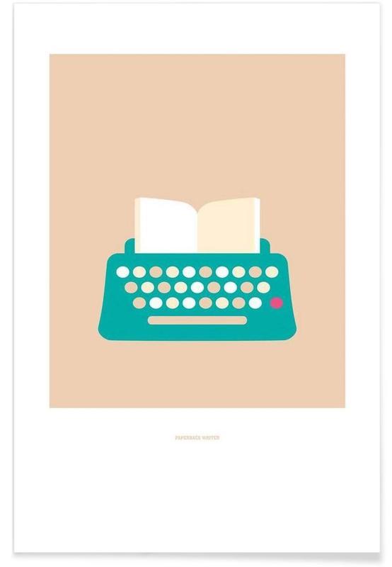Paperback Writer Poster