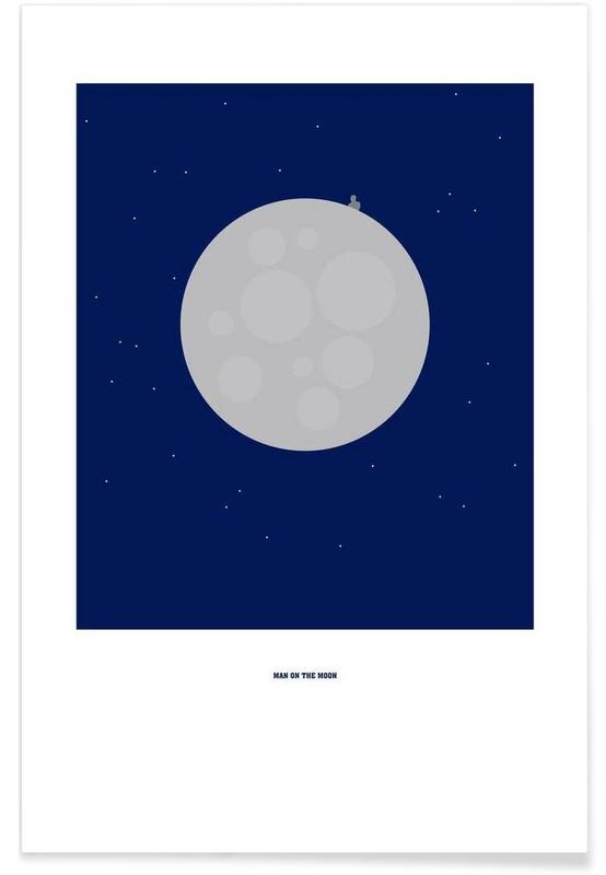 Man on the Moon affiche