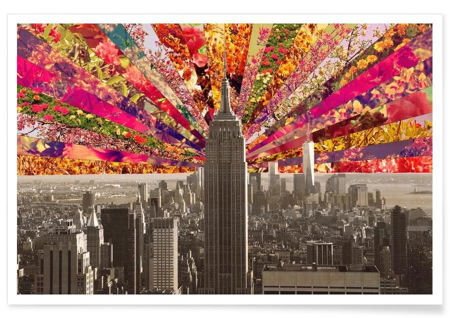 New York, Blooming NY affiche