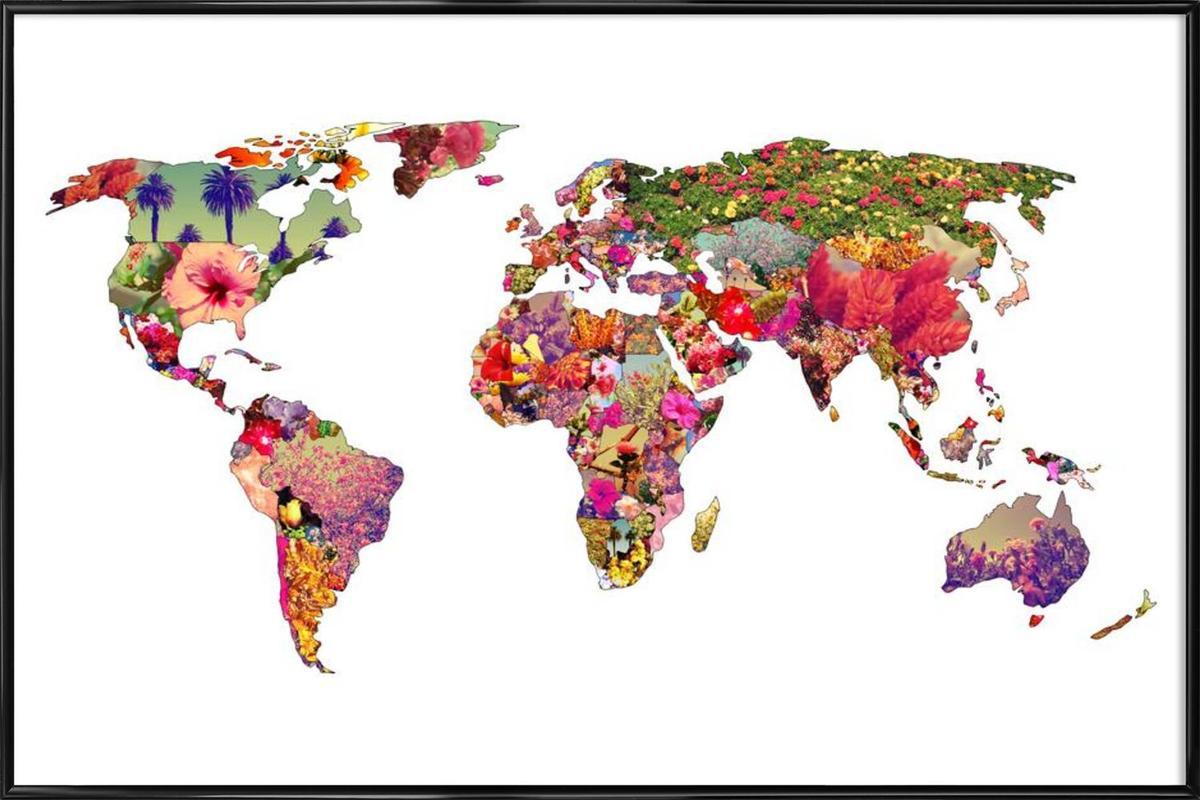 It's your world affiche encadrée