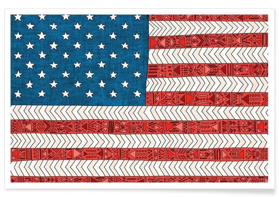 , USA affiche