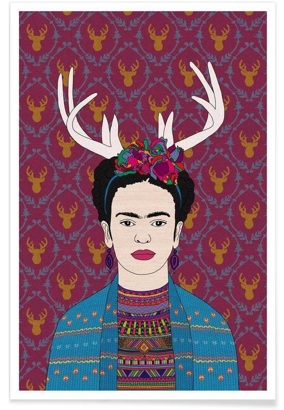 Frida Kahlo, Deer Frida affiche