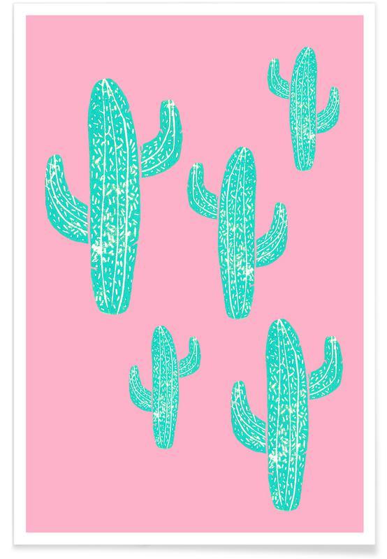Kaktus, Cacti Candy -Poster