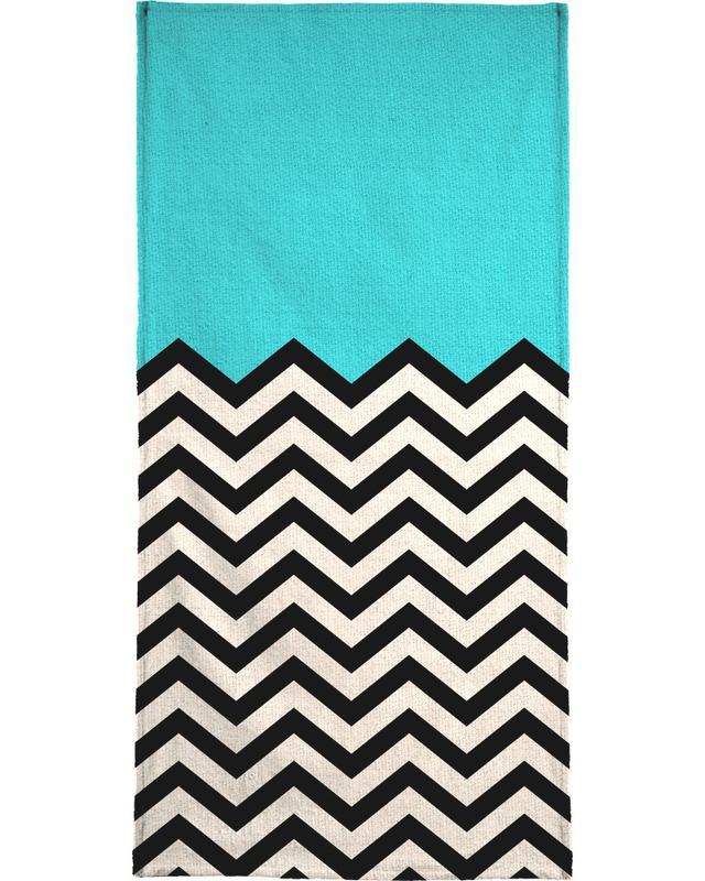 Follow The Sky Beach Towel