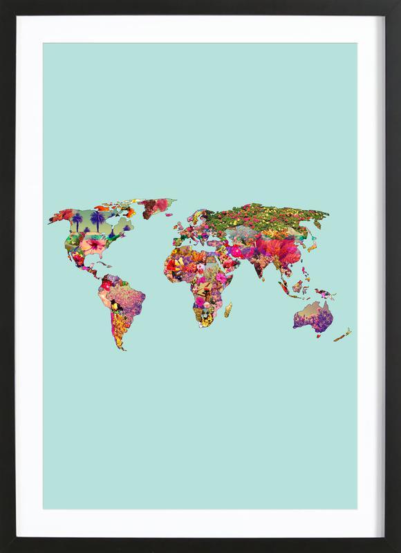 It's Your World ingelijste print