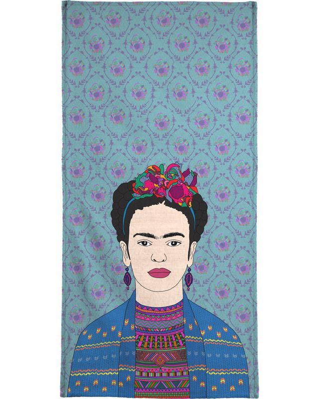 Frida Kahlo -Strandtuch