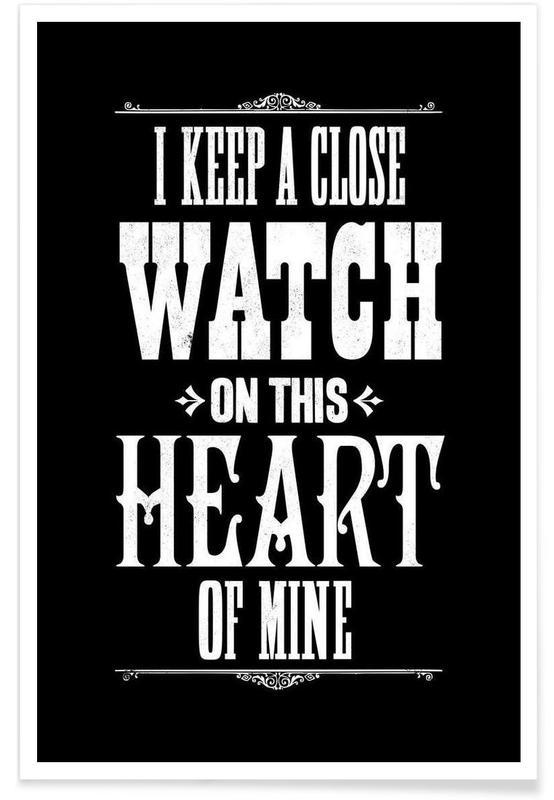 Johnny Cash, Paroles de chansons, Noir & blanc, JOHNNY CASH   affiche