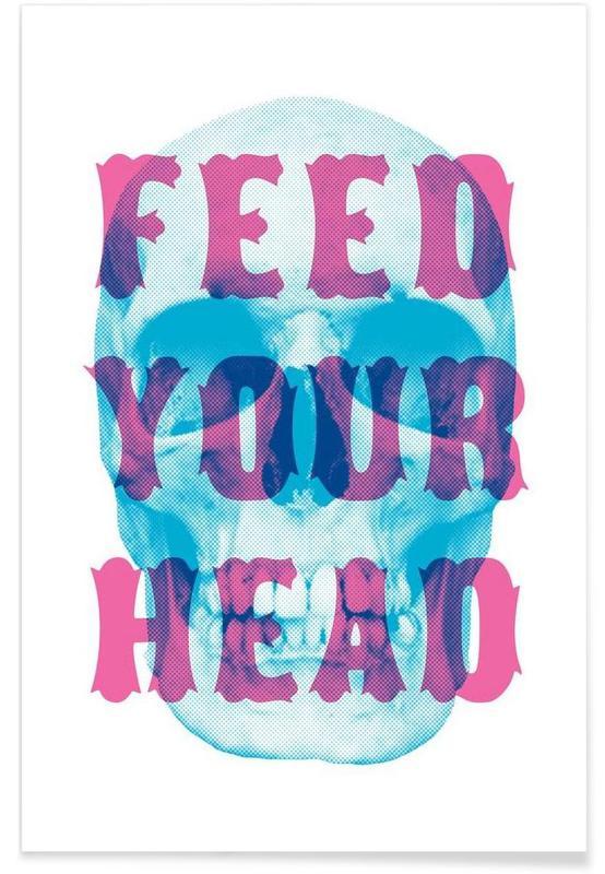 Paroles de chansons, Crânes, FEED YOUR HEAD affiche