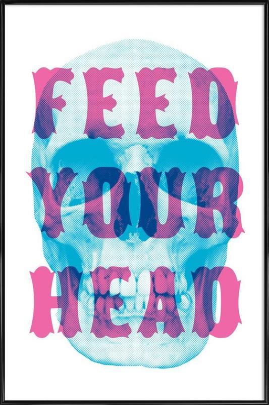 FEED YOUR HEAD ingelijste poster