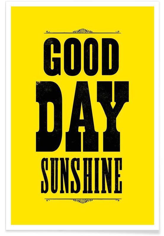 GOOD DAY SUNSHINE affiche