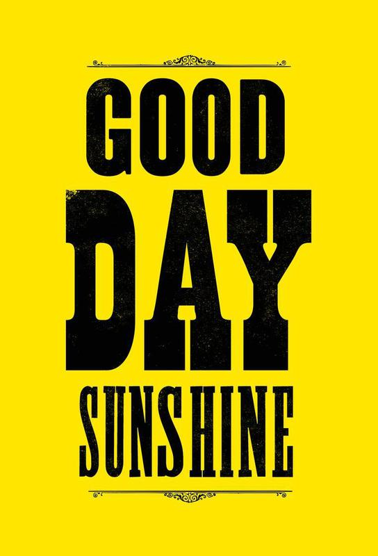 GOOD DAY SUNSHINE -Alubild