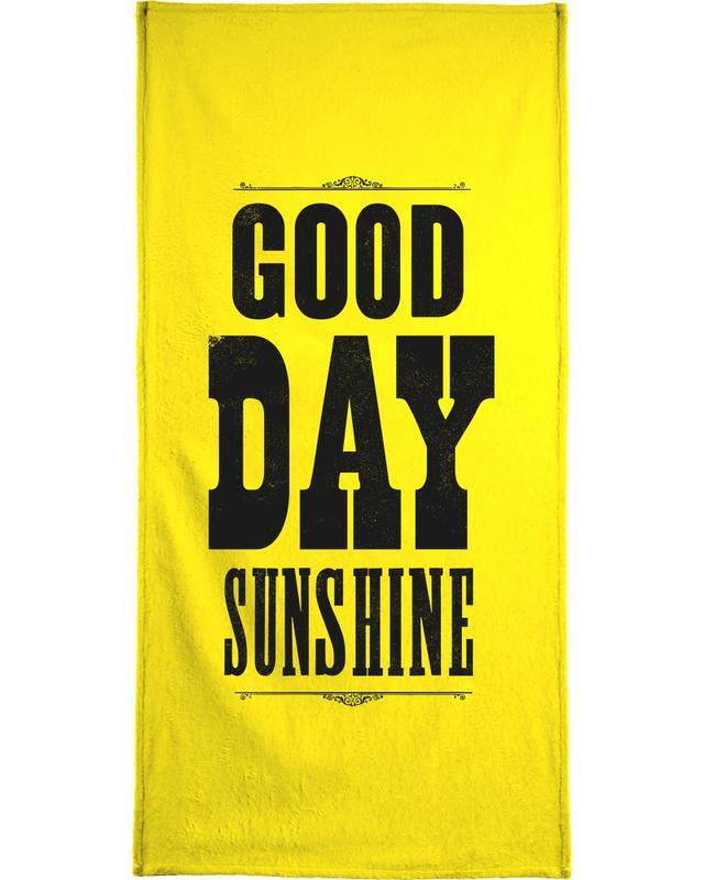 The Beatles, Lyrics, GOOD DAY SUNSHINE Bath Towel