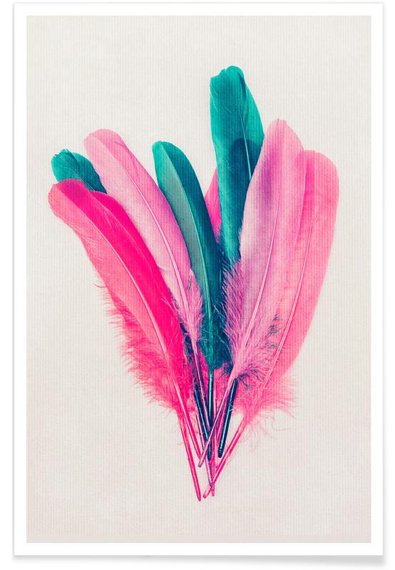 Plumes, Feather Bouquet affiche