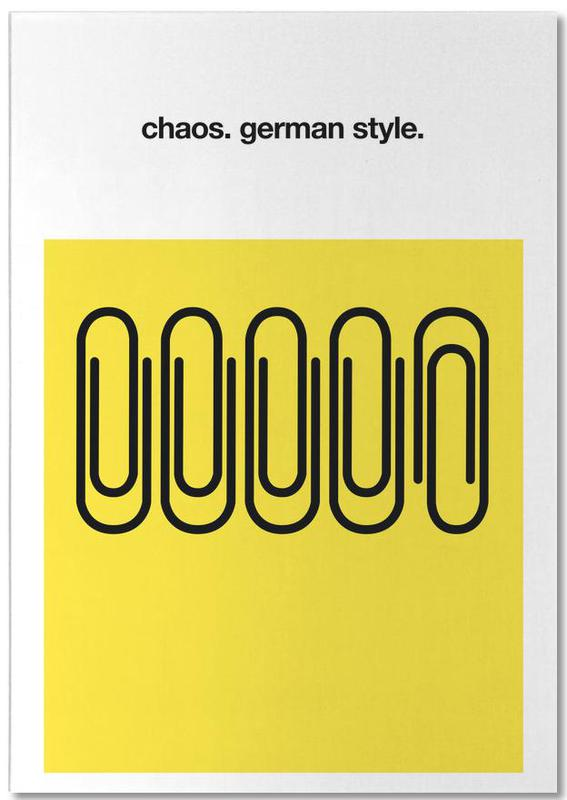 German Chaos Notepad