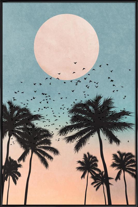 Sunrise ingelijste poster