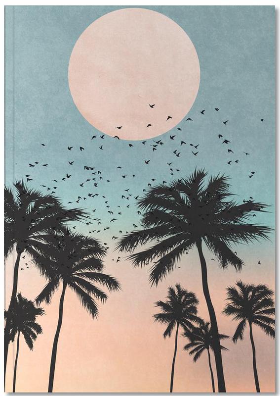 Palmen, Sonnenuntergänge, Sunrise Notebook