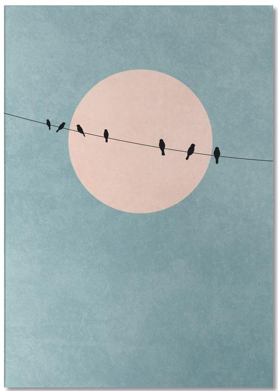 Sonnenuntergänge, The Beauty of Silence -Notizblock