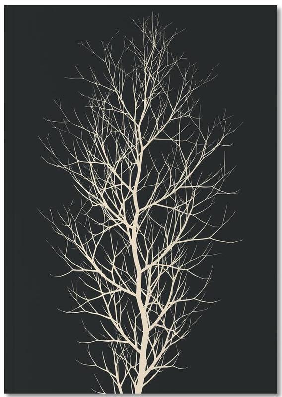 Bäume, Schwarz & Weiß, Beauty of Silence Notebook