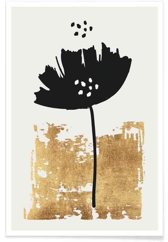 Poppies, Black Poppy Poster