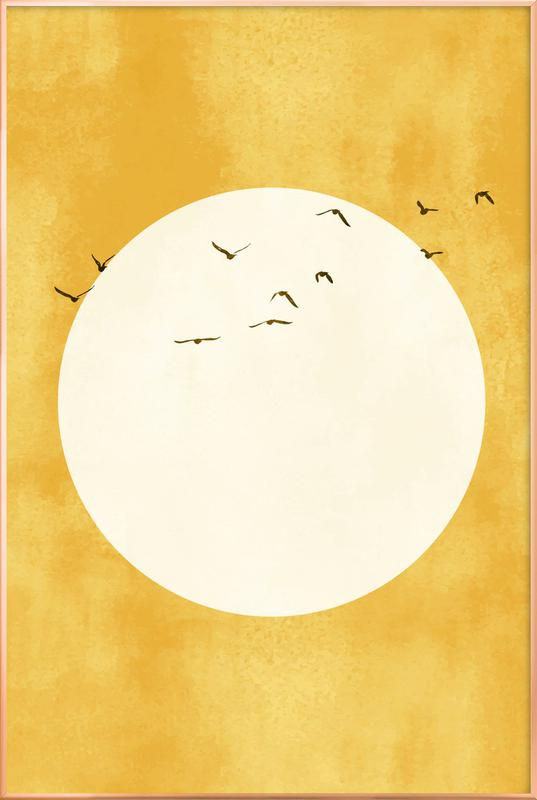 Eternal Sunshine poster in aluminium lijst