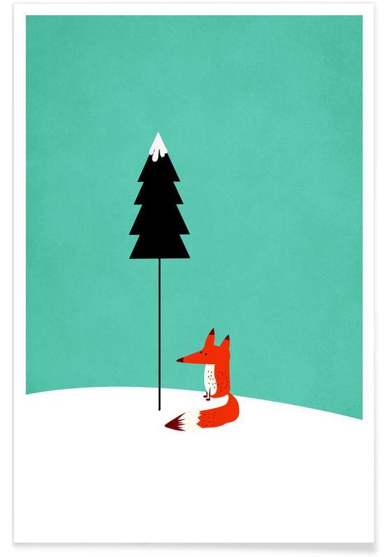 Vossen, Kunst voor kinderen, Mister Fox poster