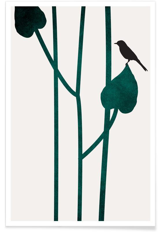 Bladeren en planten, The Bird poster