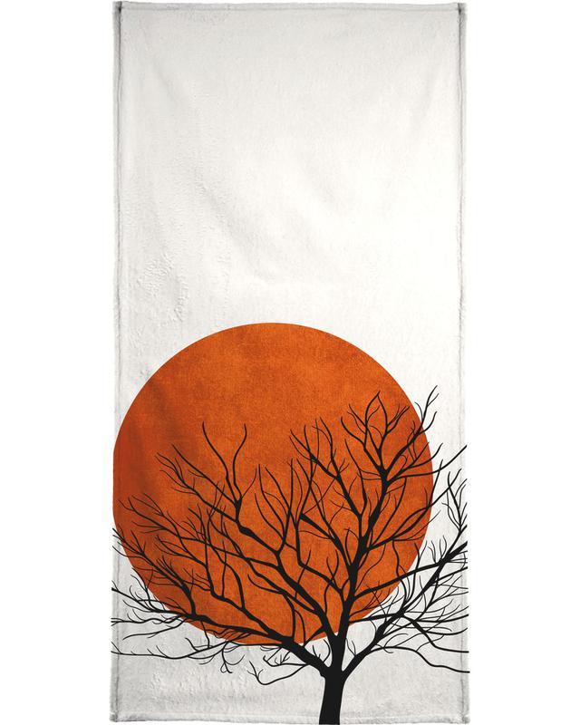 Winter Sunset serviette de bain