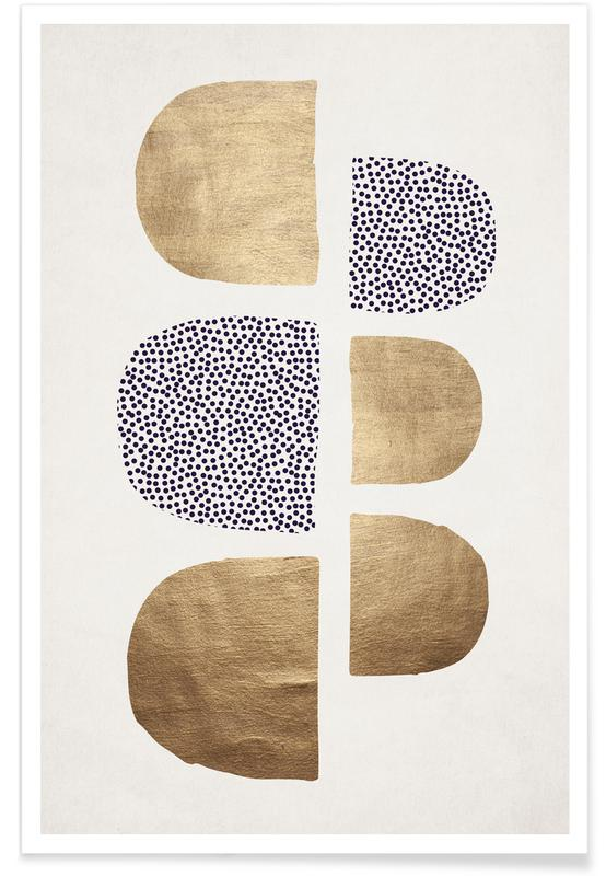 Geometric Abstracta Plakat