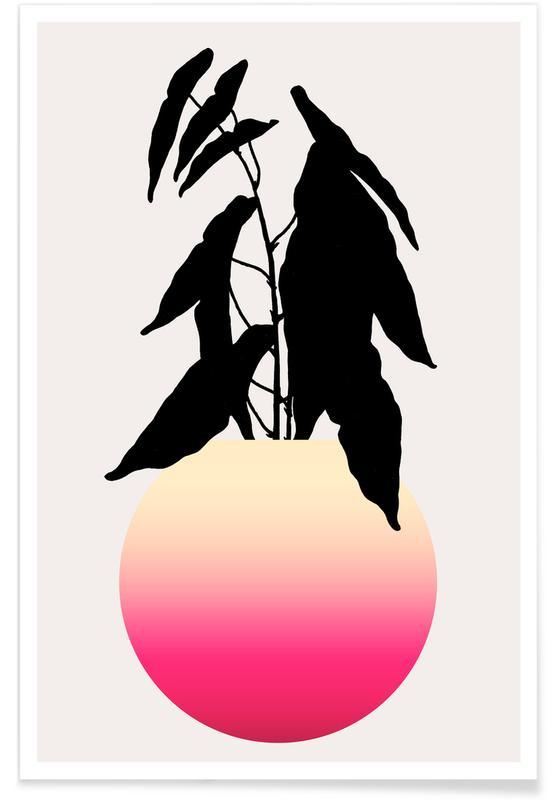 Bladeren en planten, Agony poster