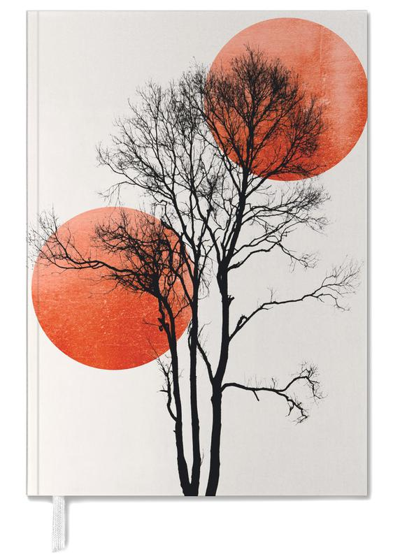 Bäume, Sun And Moon Hiding Rouge -Terminplaner