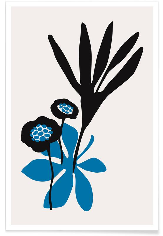 Blossom Beauty Bleu Poster