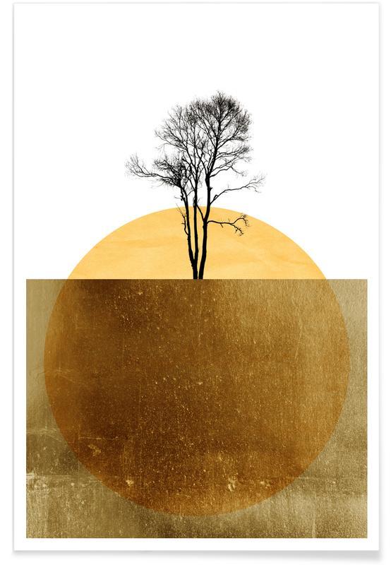 , Golden Ocean Poster