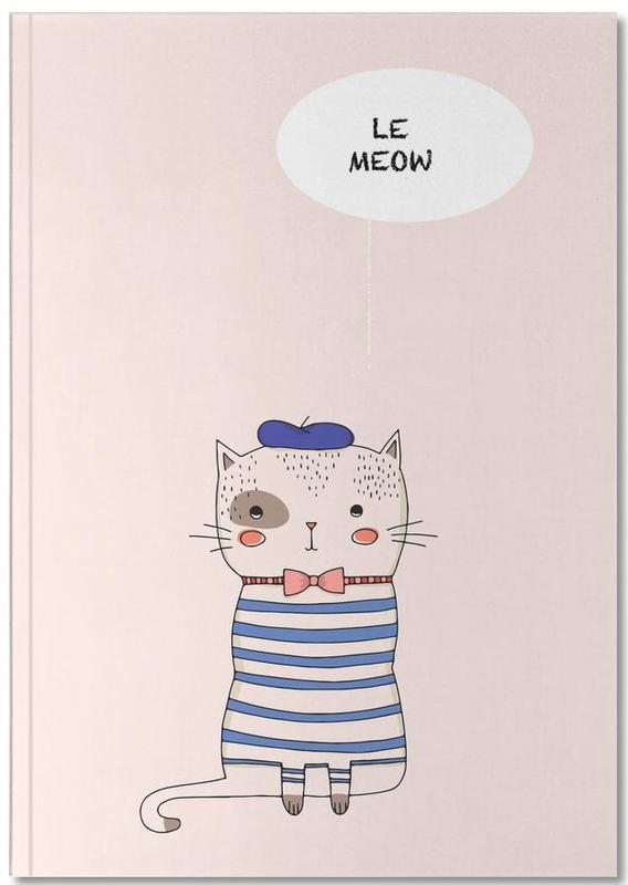 Chats, Art pour enfants, Le Meow Notebook
