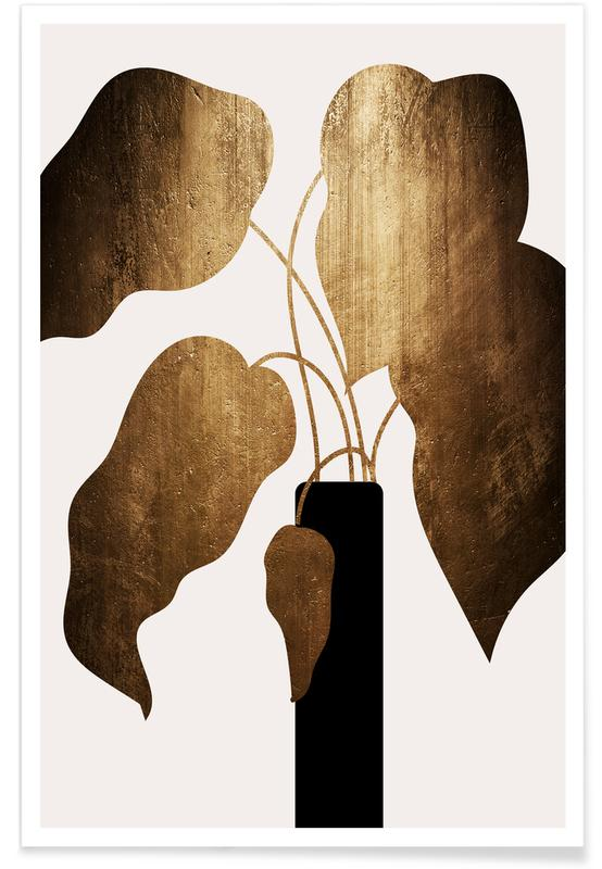 , Abstract Bouquet poster