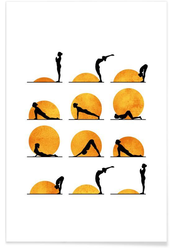 Yoga, Yoga Sun -Poster