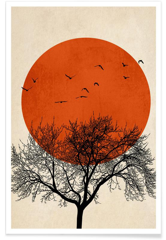 Trees, Dreamers Rouge Poster