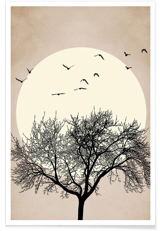 Trees, Dreamers Bright Poster
