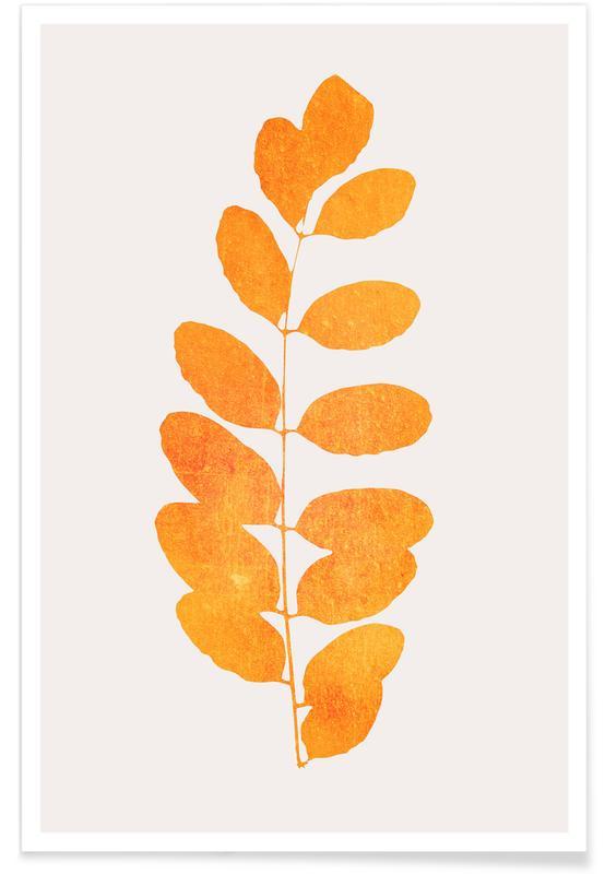 , Oak Leaf Poster