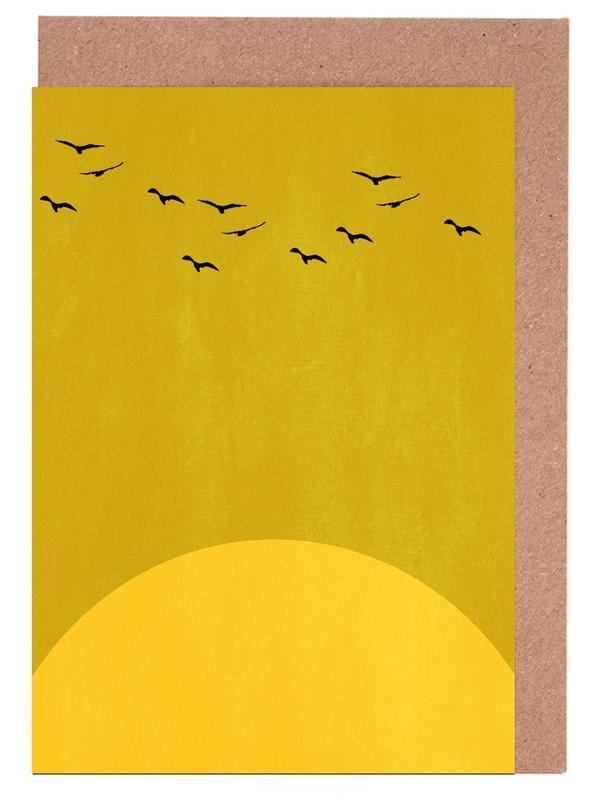 Sonnentanz -Grußkarten-Set