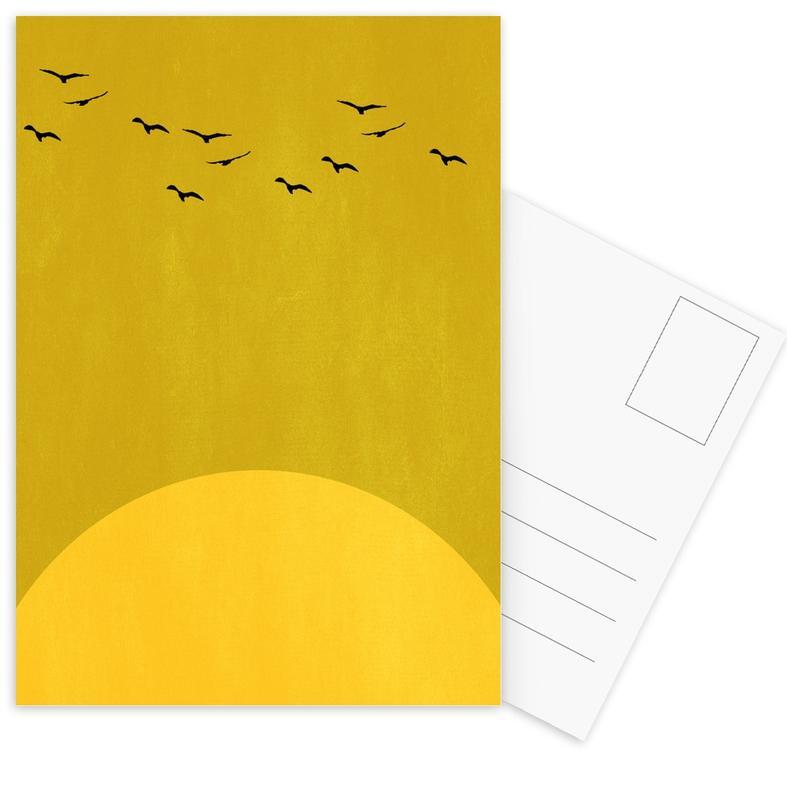 Sonnentanz -Postkartenset