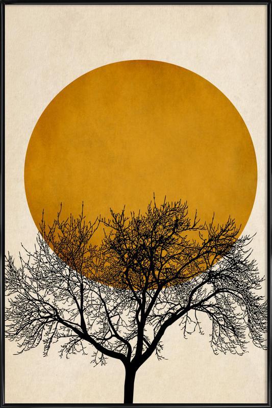 Wintermorgen Poster i standardram
