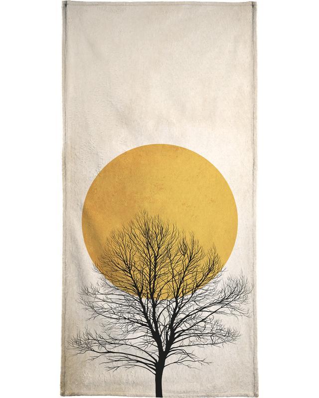 Wintermorgen -Handtuch